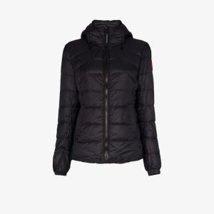 Canada Goose Womens Black Abbott Puffer Jacket