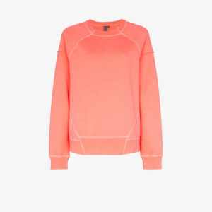 Sweaty Betty Womens Pink Sweaty B Surf Swt Cn Ls