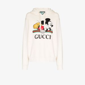 Gucci Womens Neutrals X Disney Mickey Mouse Hoodie