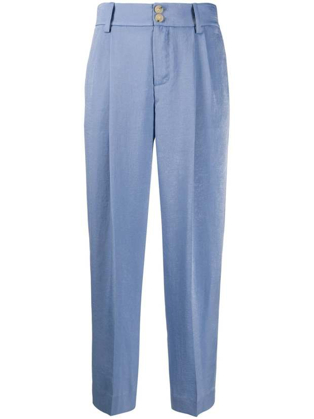 Image 1 of Vince satin tailored trousers