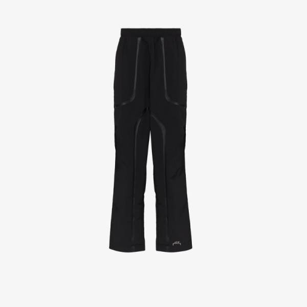 A-cold-wall* Mens Black Overlay Track Pants