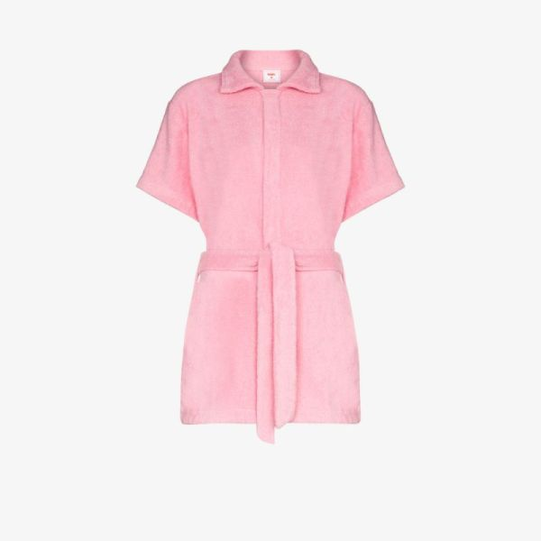 Terry Belted Short Playsuit