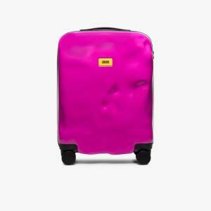 Crash Baggage Womens Pink Icon Rolling Cabin Bag