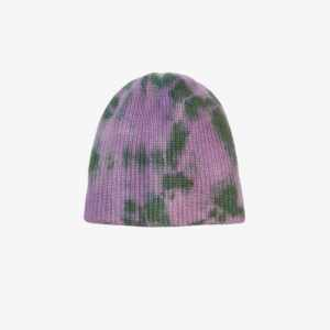The Elder Statesman Mens Multicolour Hot Watchman Tie-dye Beanie Hat