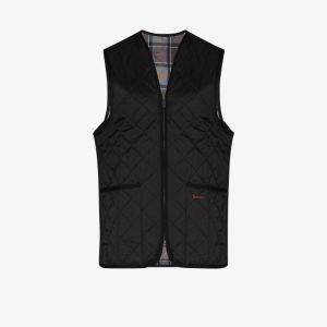 Barbour Mens Black Quilted Gilet