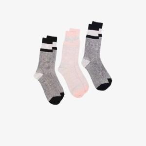 Anonymous Ism Mens Grey Multicoloured Mélange Socks Set