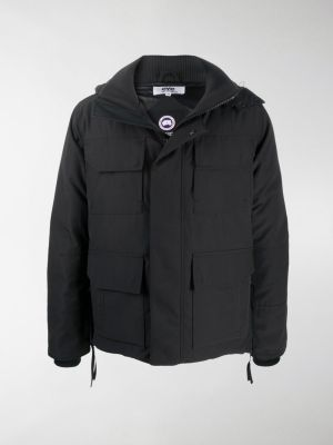 Junya Watanabe MAN padded zip-up down jacket