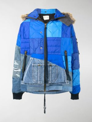 Greg Lauren patchwork padded jacket
