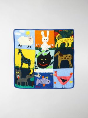 Goooders animal collage throw