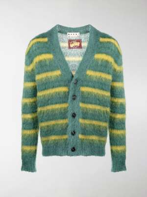 Marni horizontal-stripe cardigan