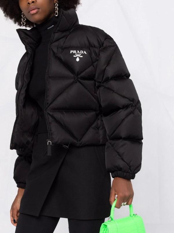 Prada Re-Nylon Gabardine quilted jacket