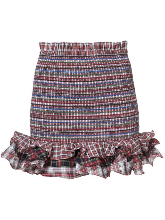 Petersyn - checkered skirt, $270.0