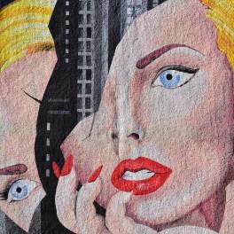 Broken                                                            Woman Mural