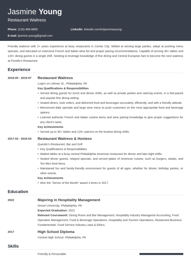 Resume Examples for Teens (Template & 18+ Tips)