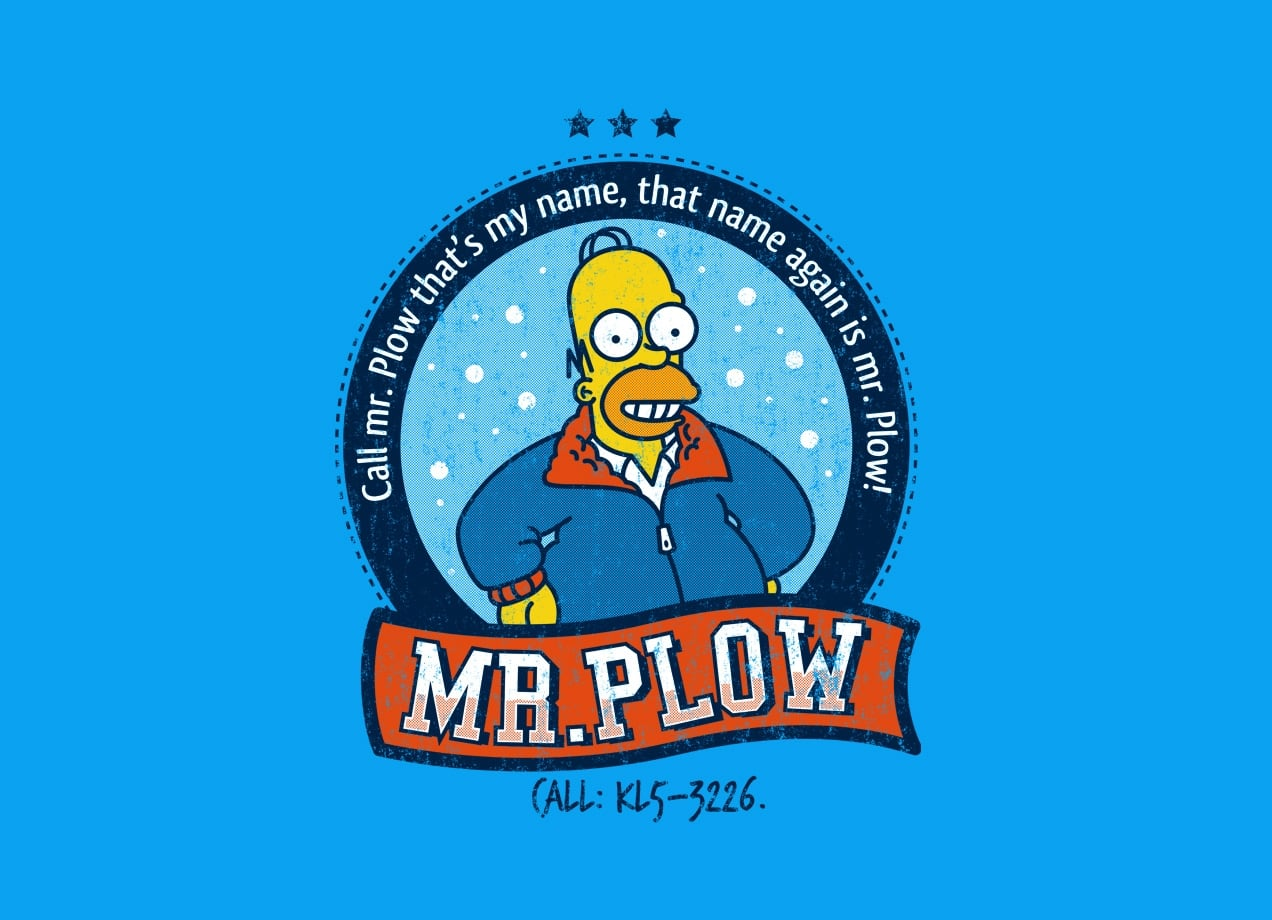 Mr Plow By Adam Nakamura Threadless