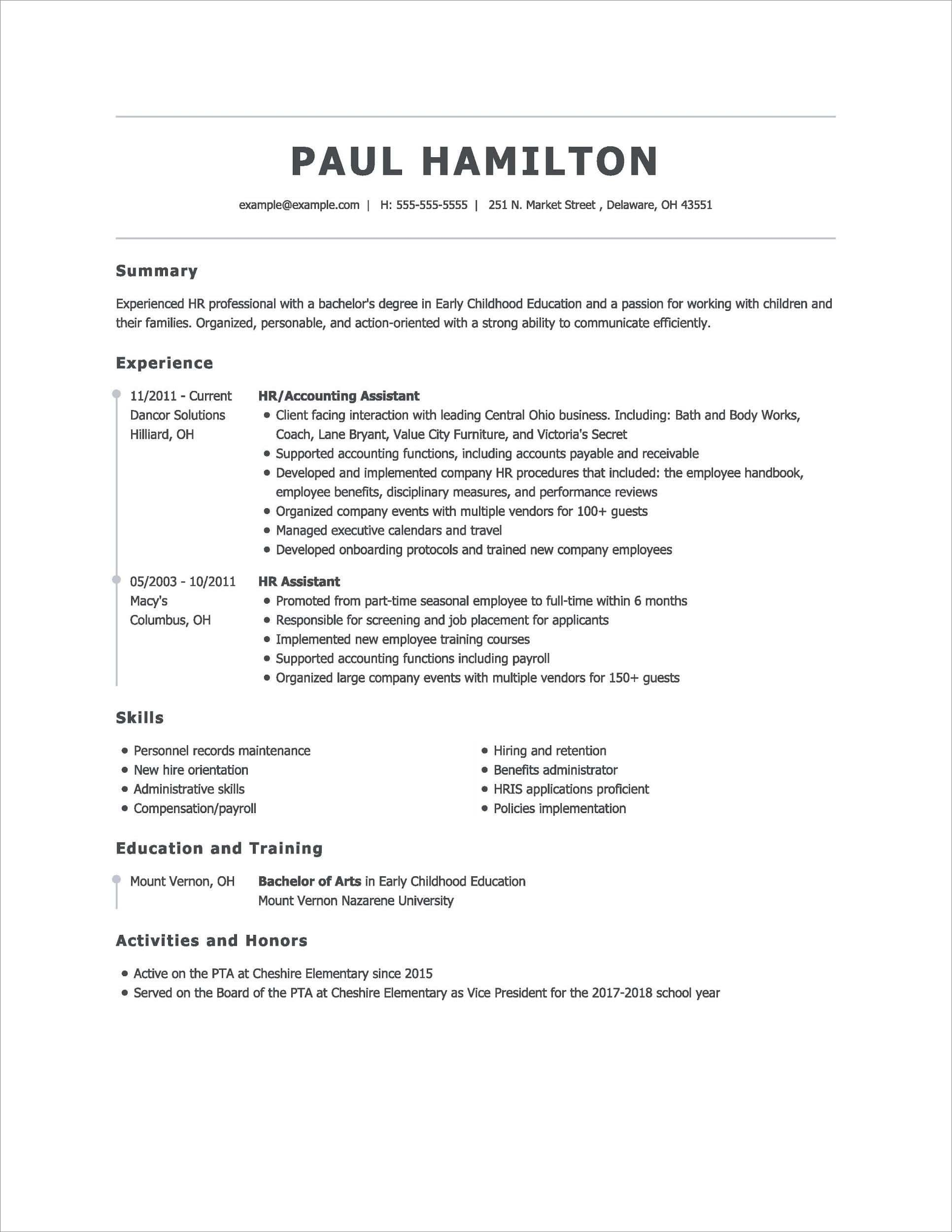 What to look out for, what structure to use, and what common mistakes to avoid when writing a professional resume. 15 Best Online Resume Builders 2021 Free Paid Features