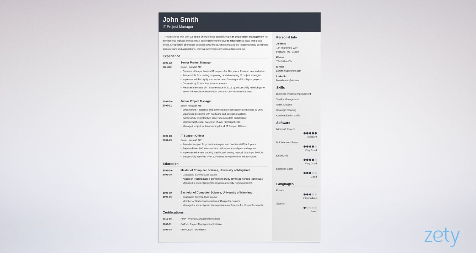 The free 2021 monthly blank calendar template features the space for notes, and it can be used as a menu planner or kitchen calendar. 15 Blank Resume Templates Forms To Fill In And Download