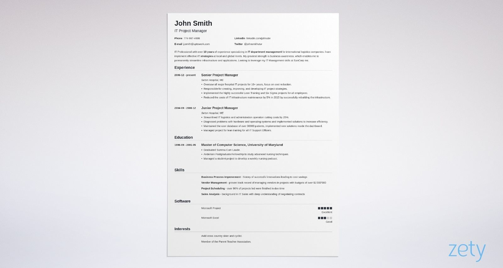 The content will rearrange automatically to fit the new template. 15 Blank Resume Templates Forms To Fill In And Download
