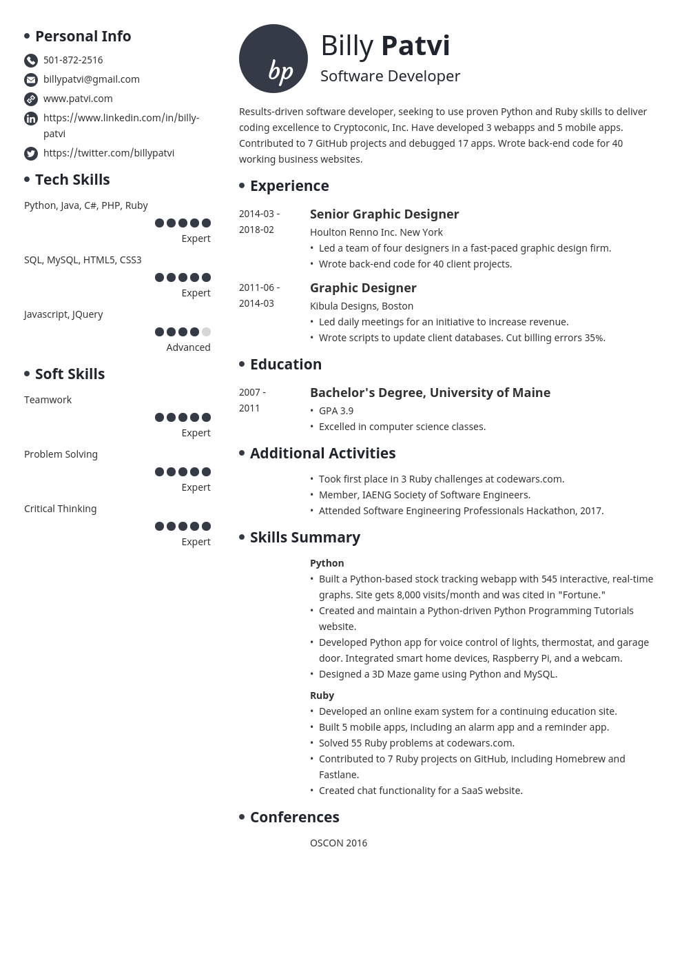 Leaving a job off your resume doesn't mean you're hiding anything and it's not something to worry about. Career Change Resume Example Guide With Samples Tips