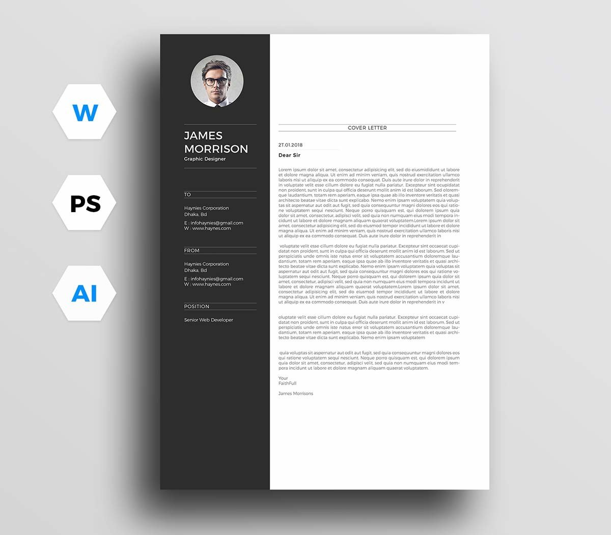 14/07/2021· free modern cover letter templates. 12 Cover Letter Templates For Microsoft Word Free Download