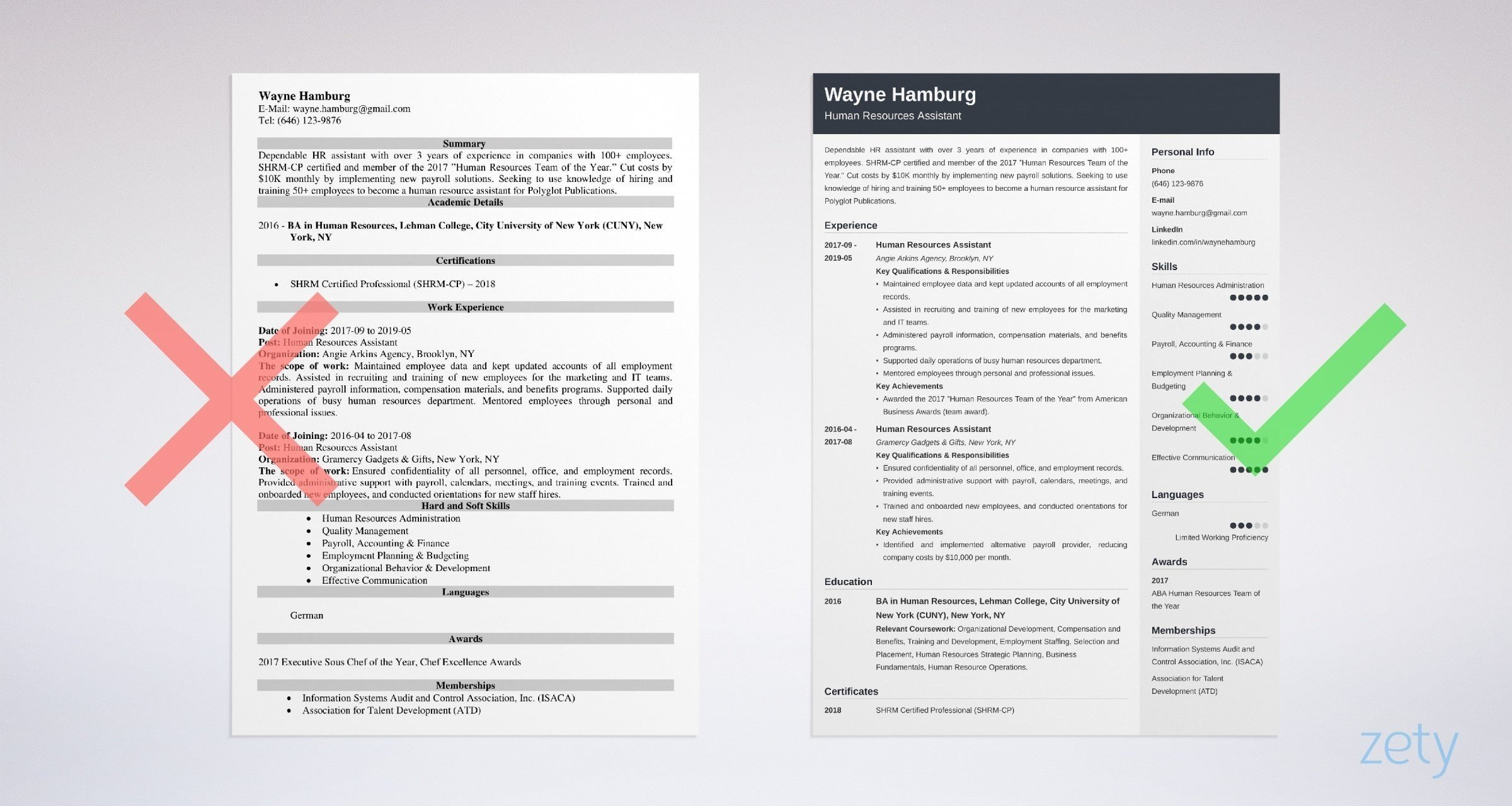 Learn more about how to recruit and train talented employees. Human Resources Hr Assistant Resume Sample Skills