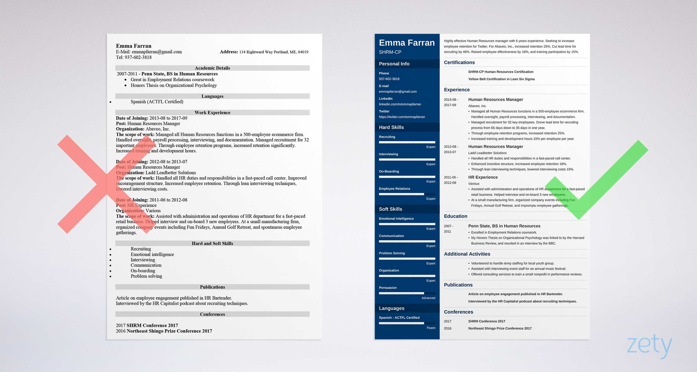 Human resources generalist resume sample. Human Resources Hr Resume Examples Guide 25 Tips