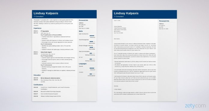 20 It Cover Letter Examples For Information Technology Jobs