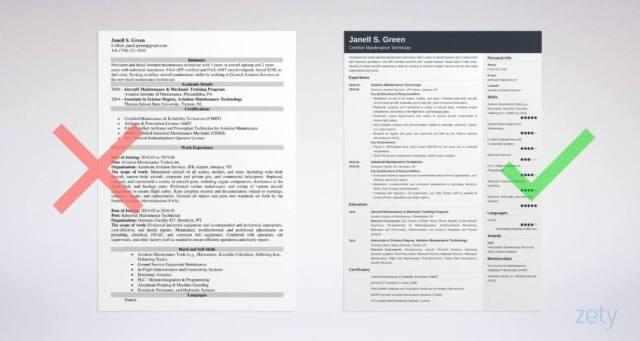Maintenance Technician Resume Sample [+Key Objectives]