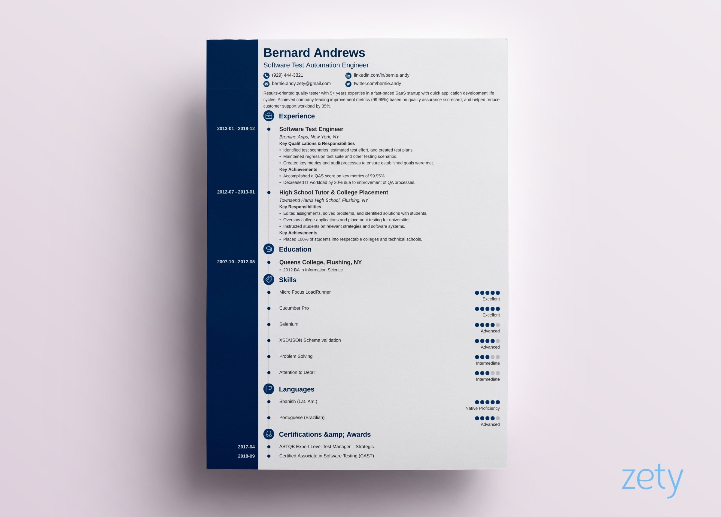 Go get your next job and download these amazing free resumes! Modern Resume Template Format 18 Examples For 2021