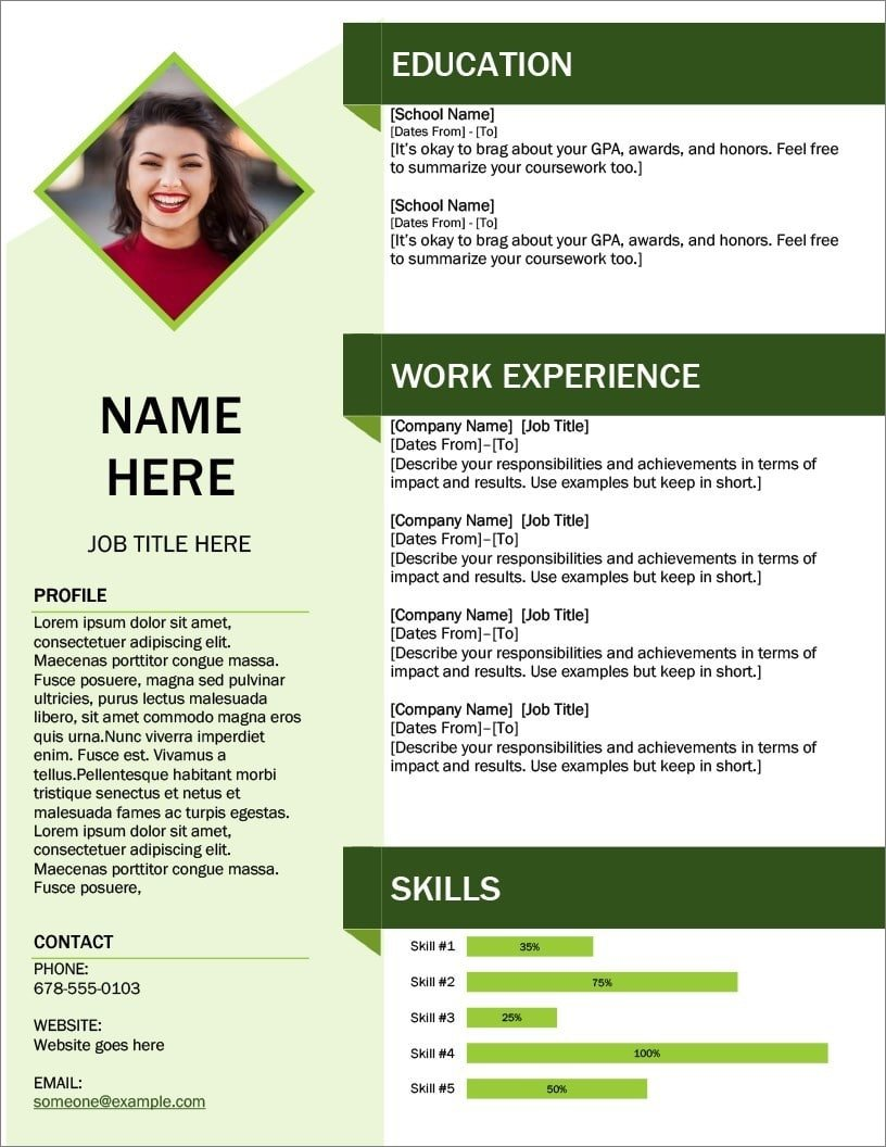 Build resume now boost existing resume. 25 Resume Templates For Microsoft Word Free Download