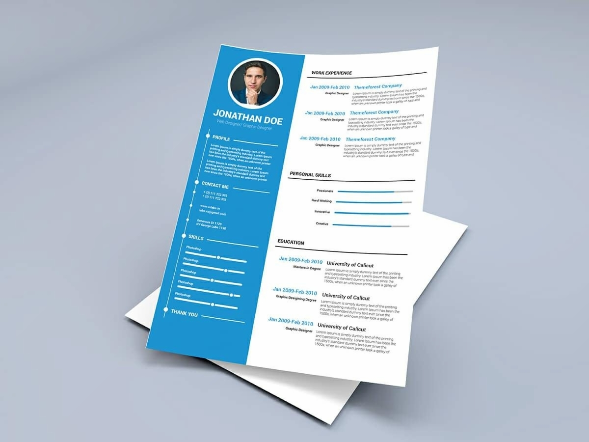 images for resume template word