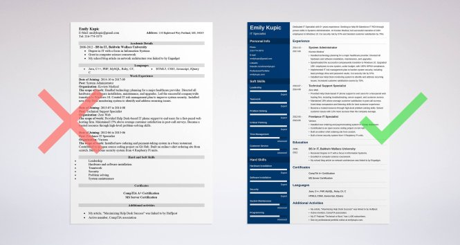 Technical Resume Template Guide 20