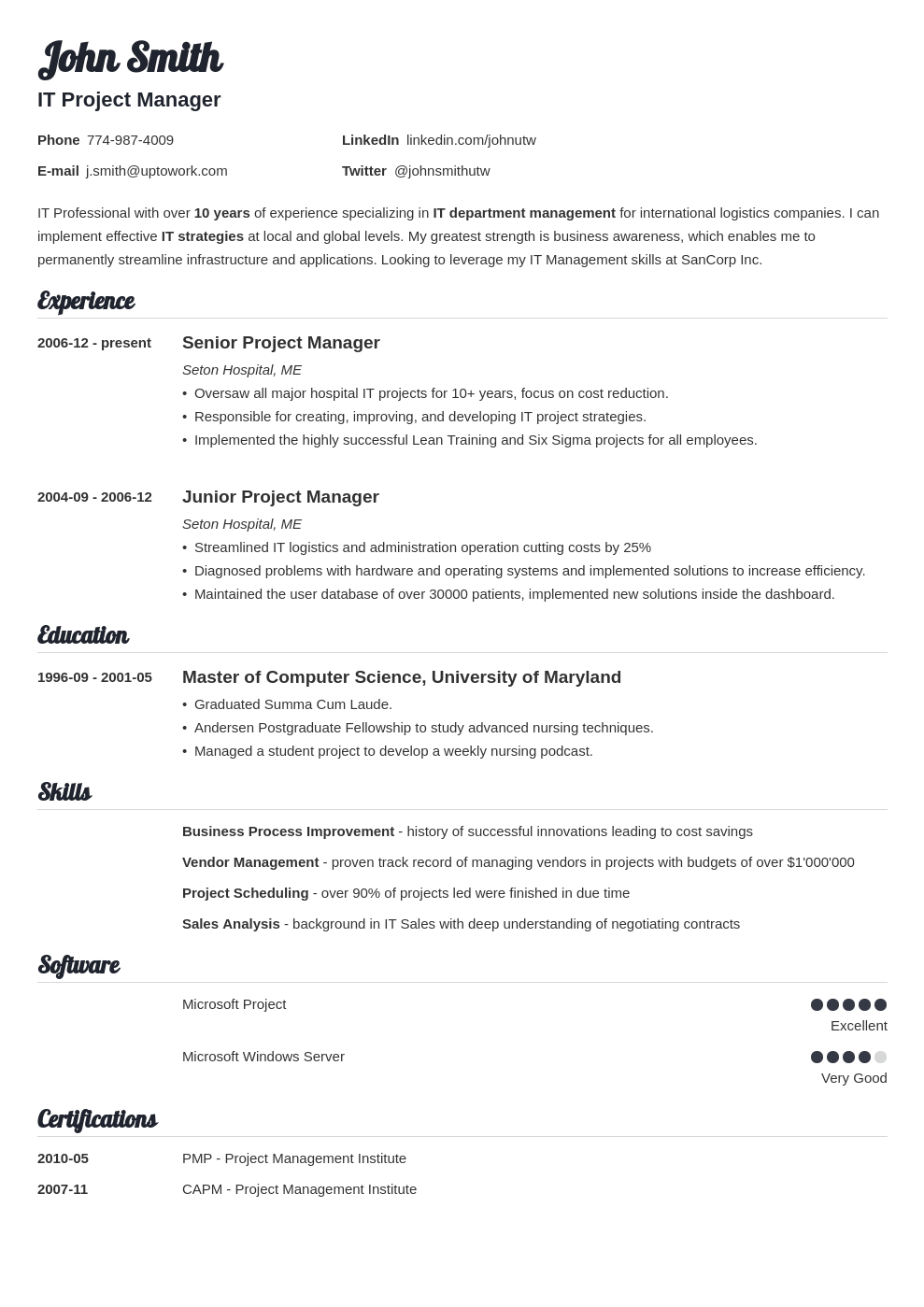 Stand out from the competition with a resume that gets noticed. 15 Blank Resume Templates Forms To Fill In And Download