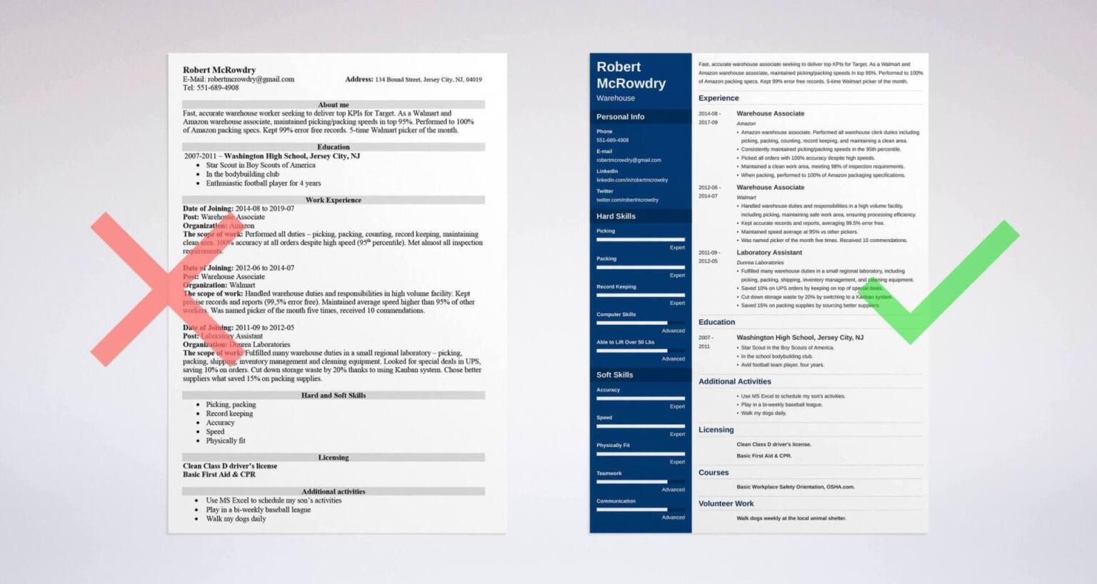 Start Writing Resume