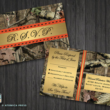 Camo Wedding Invitations Combined With Your Creativity Will Make This Looks Awesome 19