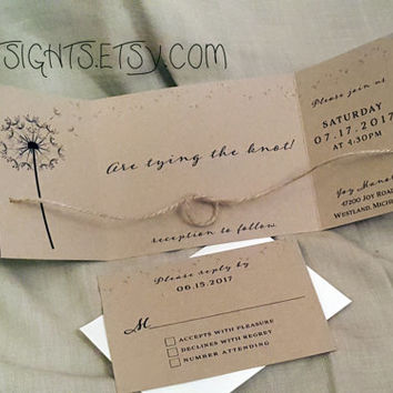 The Knot Wedding Invitations Is Good Example For Invitation With Ening Templates 1