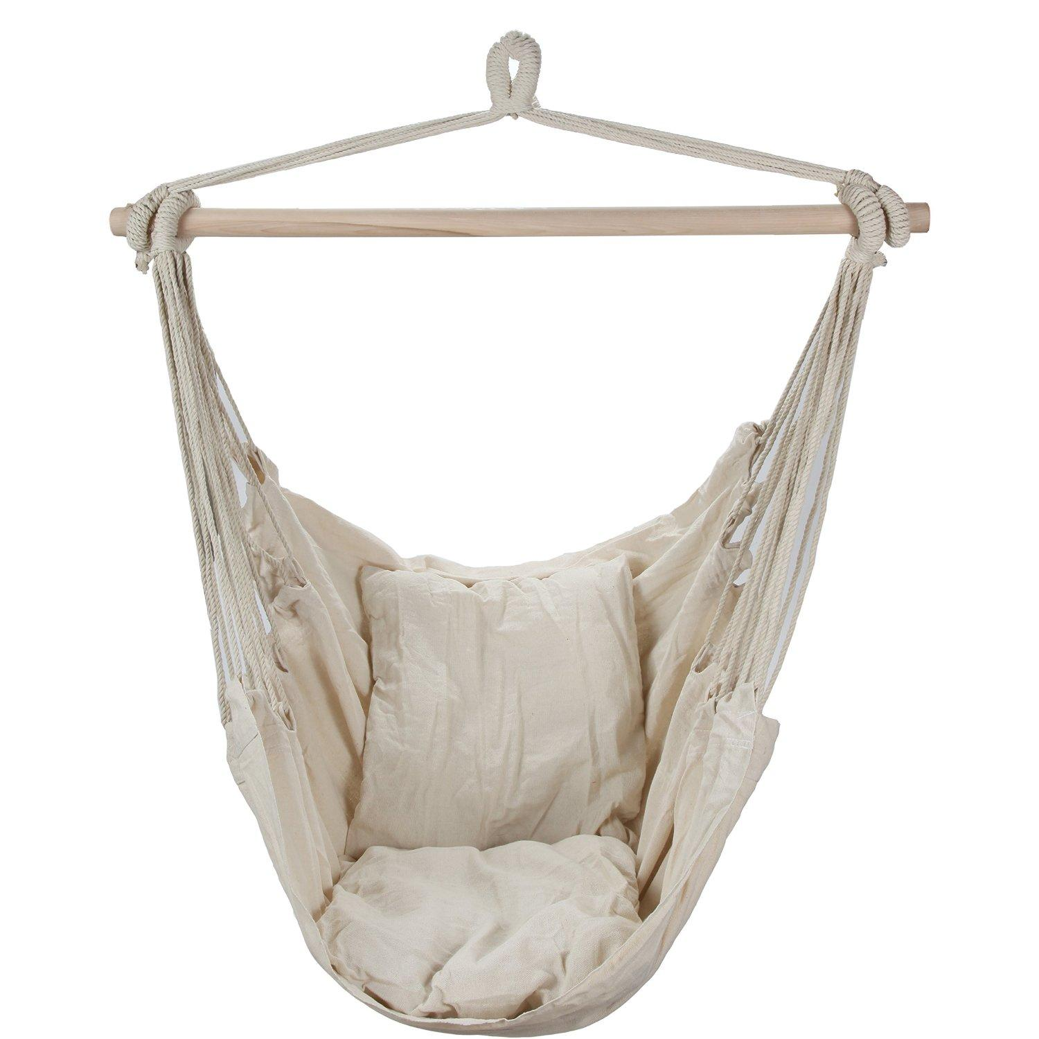 Swing Hanging Hammock Chair With Two From Amazon