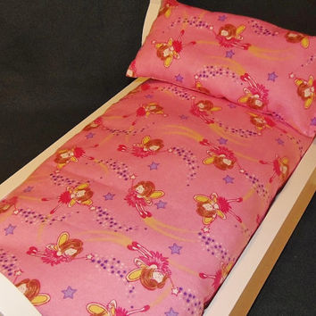 Bedding Set For American Doll Mattress And Pillow With