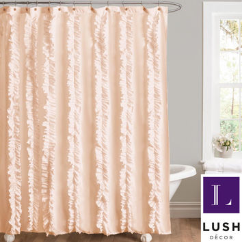 Lush Shower Curtain Collage