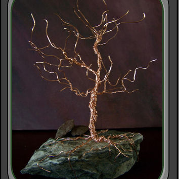 Wire Tree Of Life Quartz Crystal And The Wolf Wall Decor Diy Crafts