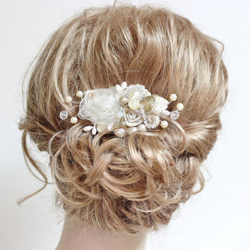 shop vintage wedding hair clips on wanelo