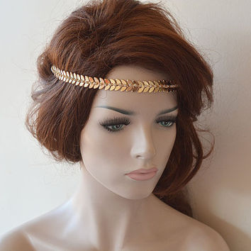bridal headband rhinestone and pearl from adbrdal on etsy