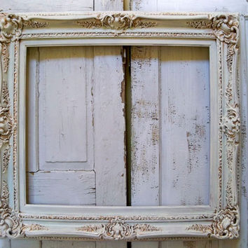 Large White Baroque Picture Frames | secondtofirst.com