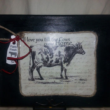Download Best Cow Kitchen Decor Products on Wanelo