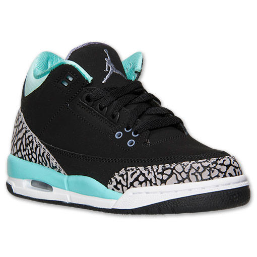 Girls' Grade School Air Jordan Retro 3 from Finish Line
