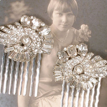 antique art deco hair b 1920s vintage from amoretreasure