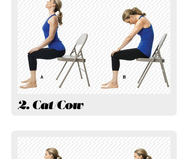 Chair Yoga Back Pain