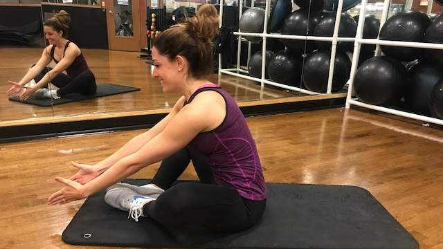 Butterly Sit-Ups step 2