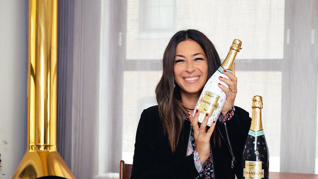 Rebecca Minkoff's Entertaining Tips with Chandon Champagne ...