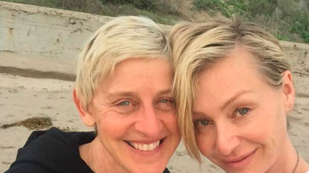 Ellen DeGeneres Celebrates Birthday With Portia De Rossi